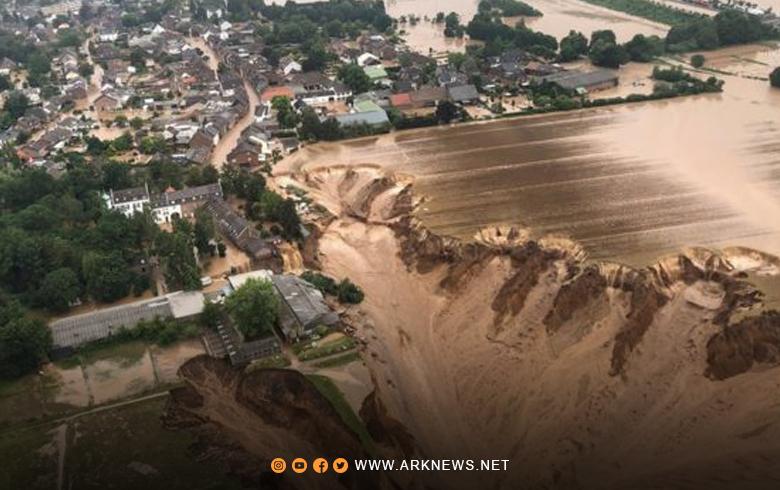 آخر إحصائية ضحايا فيضانات أوروبا