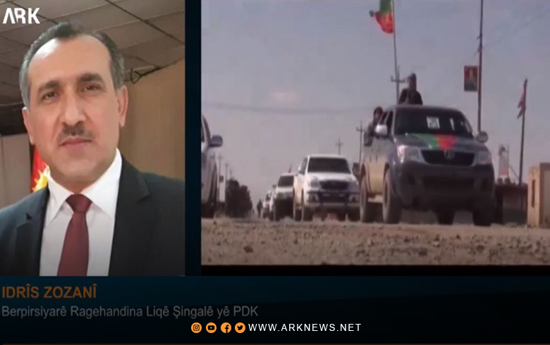 A stranger to Shingal and the people of Shingal and dozens of Yezidis youth leave their ranks daily