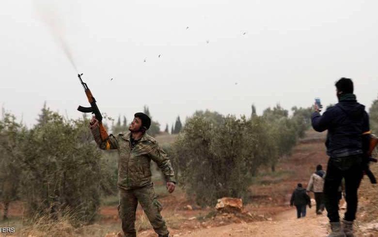 Efrîn.. Şer navbera du girûpên çekdar de derket