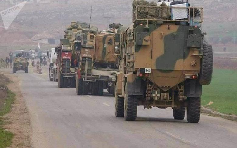 تعزيزات عسكرية تركية يومية تصل إلى الحدود السورية