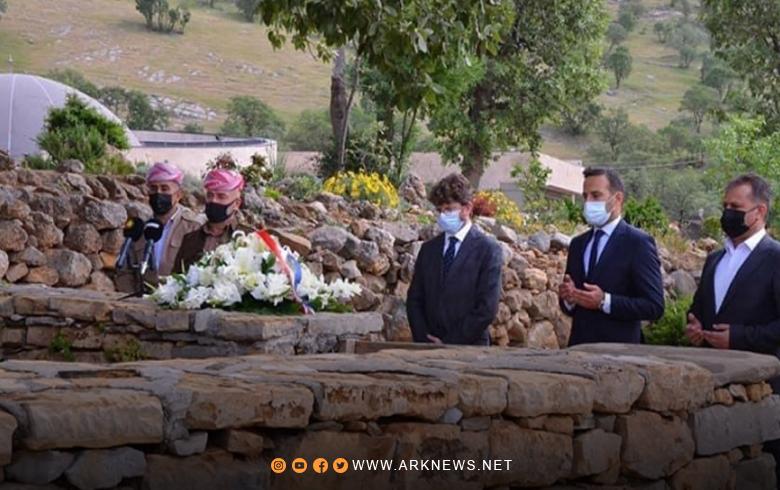 القنصل الفرنسي في أربيل: الملا مصطفى البارزاني ، قائد سياسي وعسكري فريد لانظير له