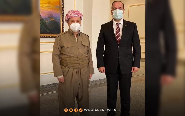 الرئيس بارزاني: ما يحدث في عفرين يقلقنا ونأمل بسوريا تحفظ حقوق كافة المكونات