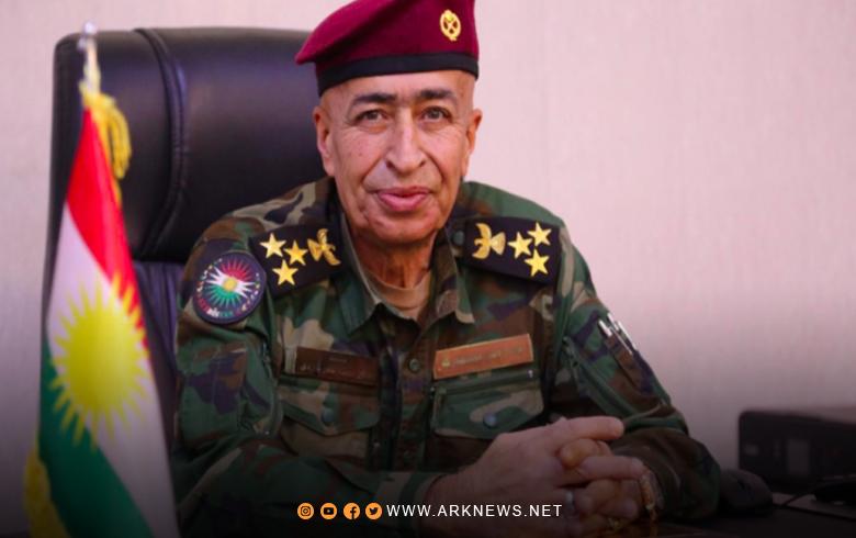 المجلس الدولي للسلام يختار ضابطا من البيشمركة سفيرا للسلام على مستوى العالم لعام 2021