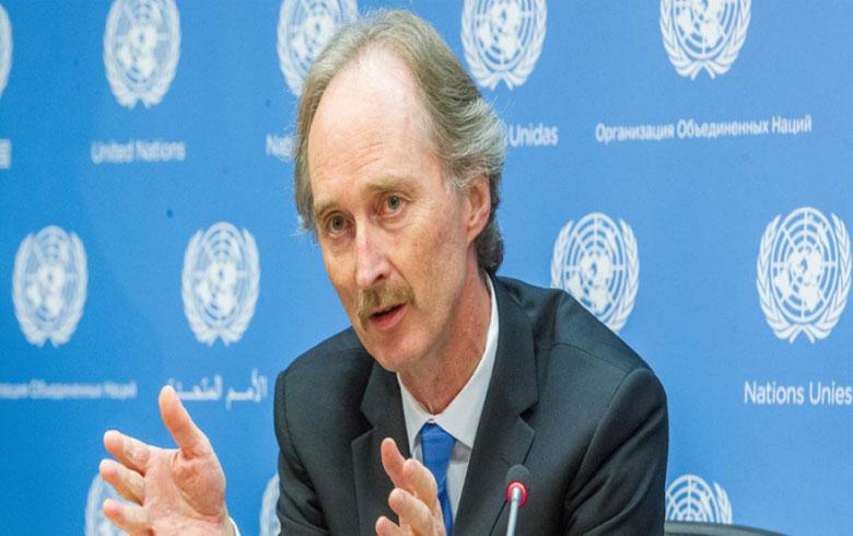 بعد شفائه.. بيدرسون يعلن استئناف عمله في الملف السوري