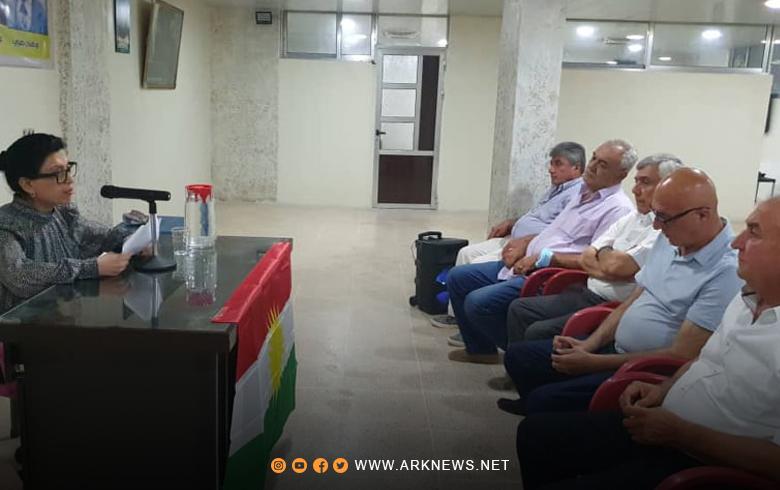 ندوة سیاسیة في مكتب PDK-S بقامشلو