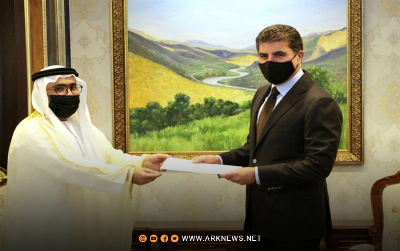 نيجيرفان بارزاني يتلقى دعوة رسمية من دولة عربية لزيارتها