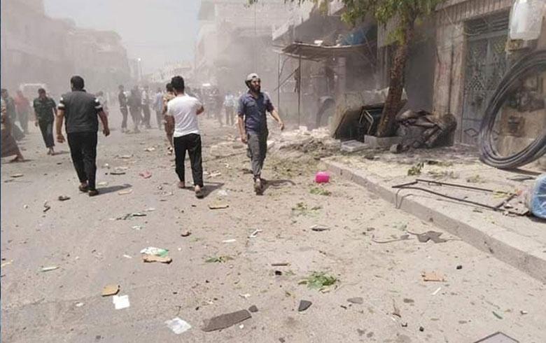 مقتل أطفال بتفجير دراجة  بريف دير الزور