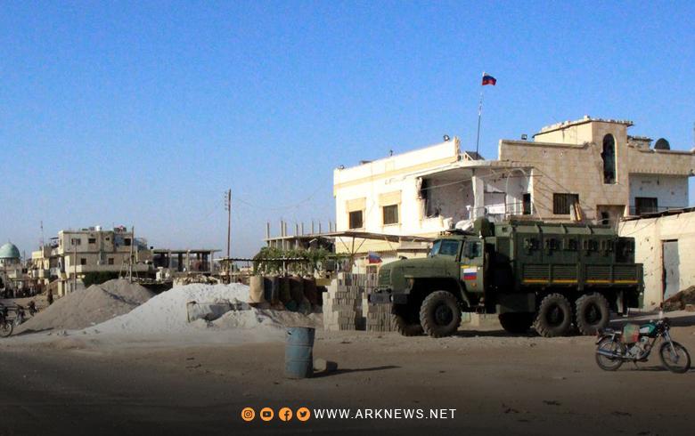 اليوم الثاني لعملية التسوية في درعا, وتسليم الأسلحة لتنفيذ الاتفاق