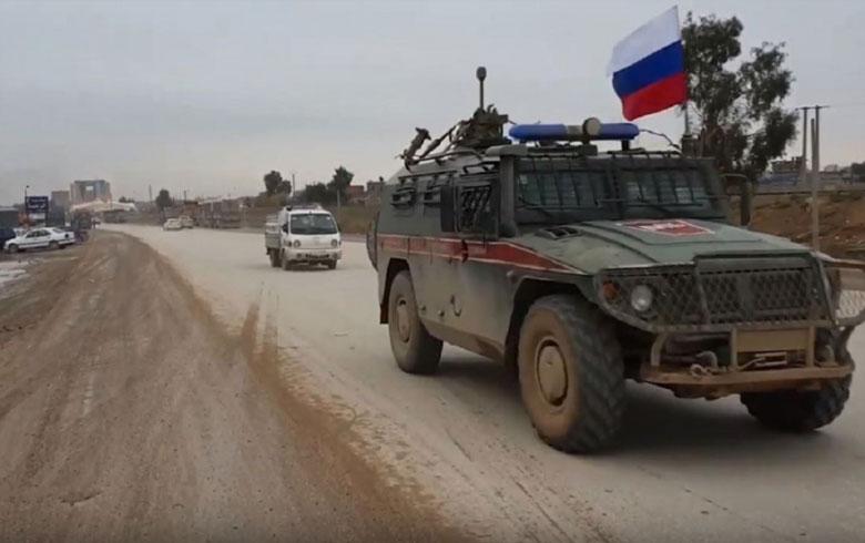 """""""حميميم"""": استئناف تسيير الدوريات الروسية التركية المشتركة في شرق الفرات"""