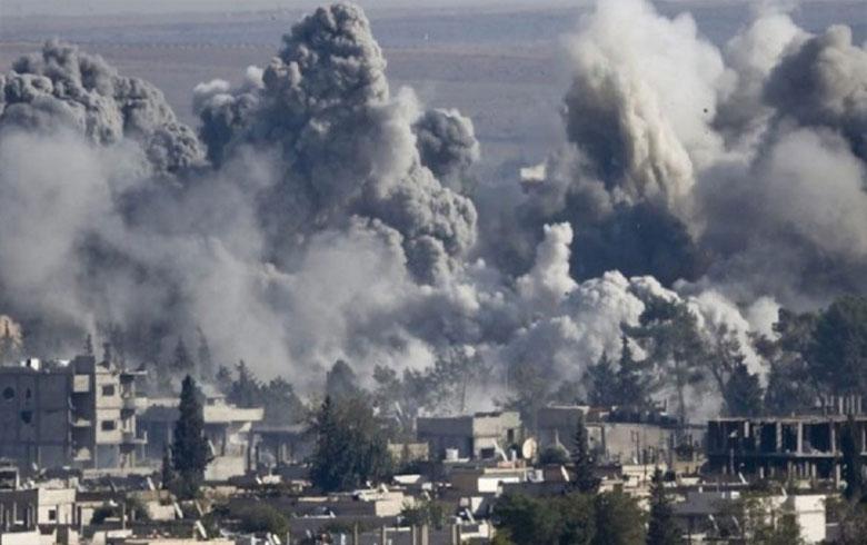 طائرات ومدفعية النظام وروسيا تستهدف القوات التركية في مطار تفتناز وقرية شنان بإدلب