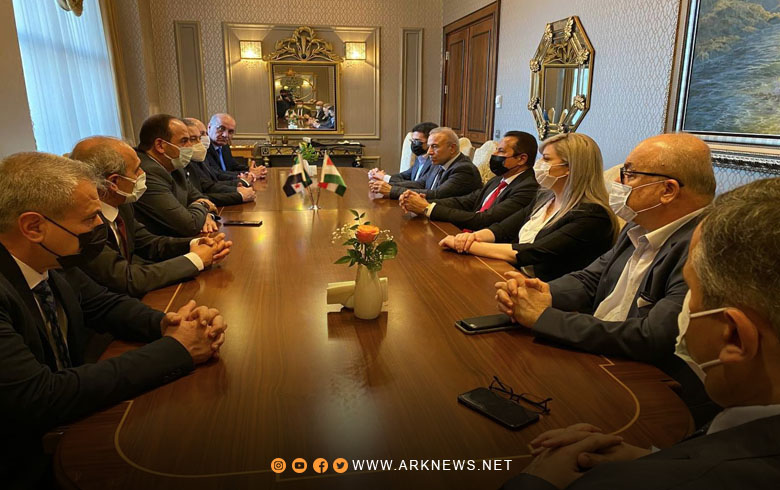 A delegation from the coalition meets with the political official of the Syrian file in the Kurdistan Region