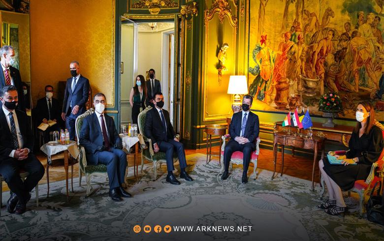 فحوى لقاء مسرور بارزاني وصوفي ويلمز وزيرة الخارجية البلجيكية