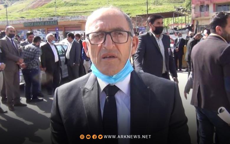 Speech delivered by Nawaf Rashid, Head of the Kurdistan Region Representation for ENKS at the reception ceremonies of the fighter Aladdin Hammam
