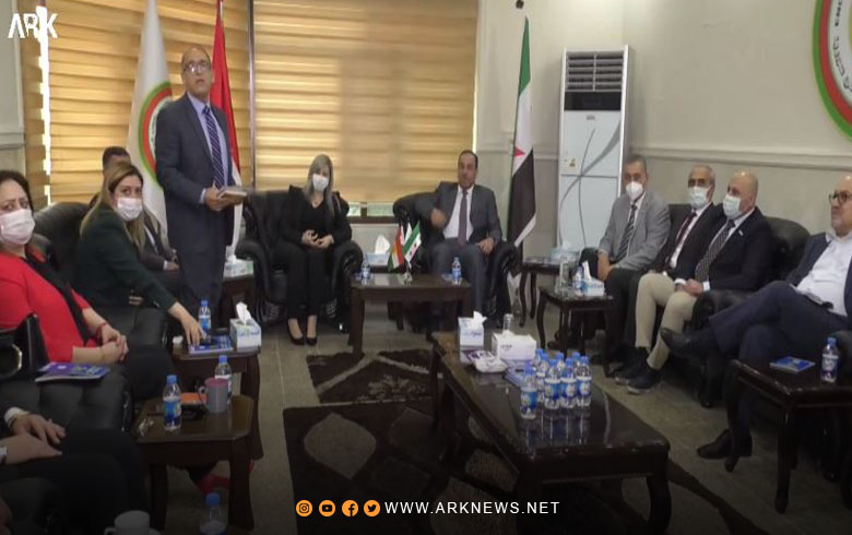Nawaf Rashid reveals the content of their meeting with Nasr Al-Hariri at the headquarters of the Kurdistan Region Representation of ENKS