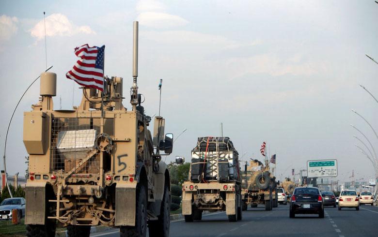 القوات الأمريكية تنسحب من قاعدة