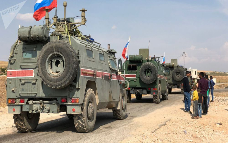 روسیا توسع مناطق دورياتها في شرق الفرات