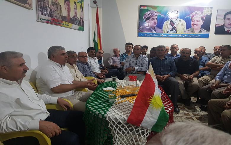 الحزب الديمقراطي الكوردستاني -سوريا يعقد ندوة تنظيمية وسياسية في ديرك