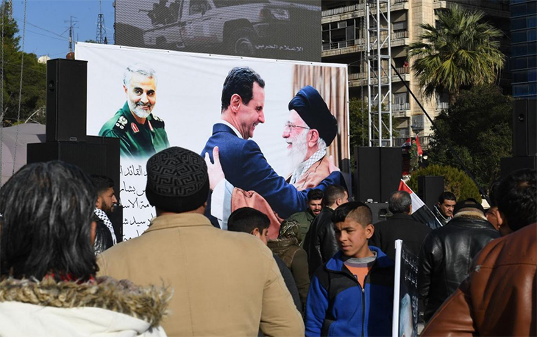 A Syrian figure handed Soleimani's head to the Americans