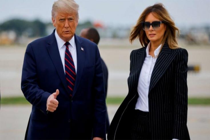 ميلانيا ترامب: أين السيدة الأولى في المعركة الانتخابية؟