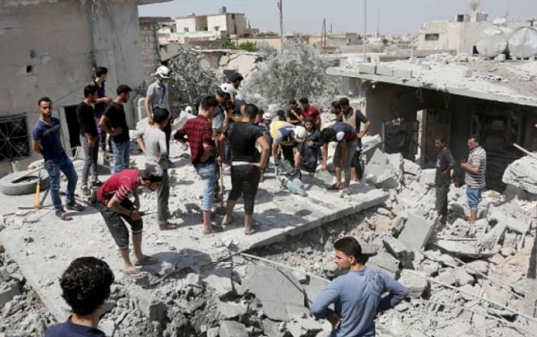 23 Civilians Killed in Assad Regime & Russian Airstrikes on Rural Idlib