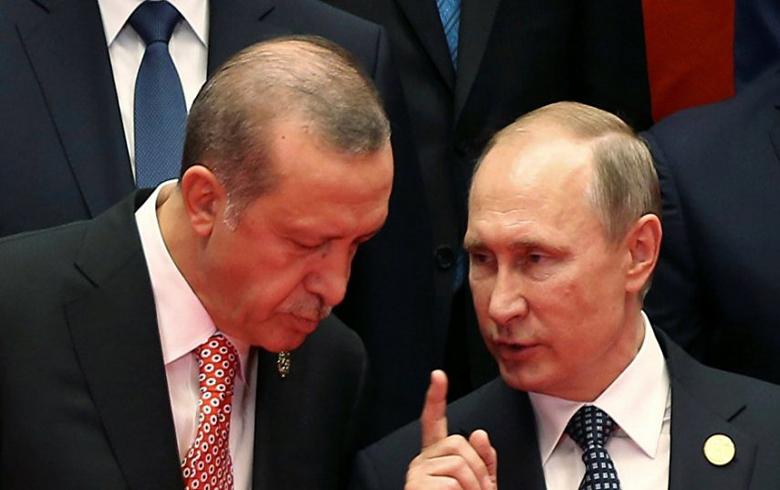 إجتماع بين بوتين وأردوغان الشهر المقبل