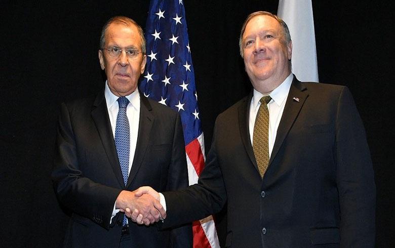 لافروف وبومبيو يؤكدان على تحسين العلاقات الروسية - الامريكية