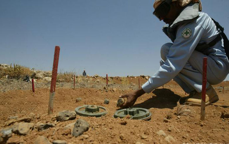 United Nations: 10 million people living in minefields in Syria