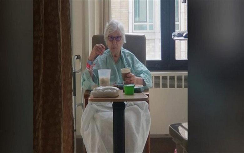 عجوزة تتعافى من كورونا , والاطباء يصفون الواقعة بـ بارقة أمل