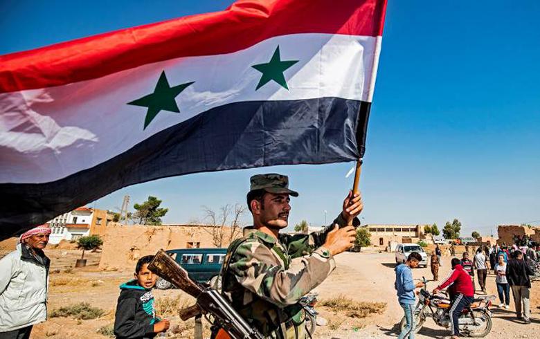 القسد تحاول توقیع إتفاق سیاسي مع النظام السوري ، ورد النظام واضح