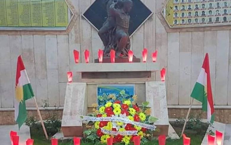 المجلس الوطني الكوردي يحيي الذكرى ال 58 لمجزرة عامواد