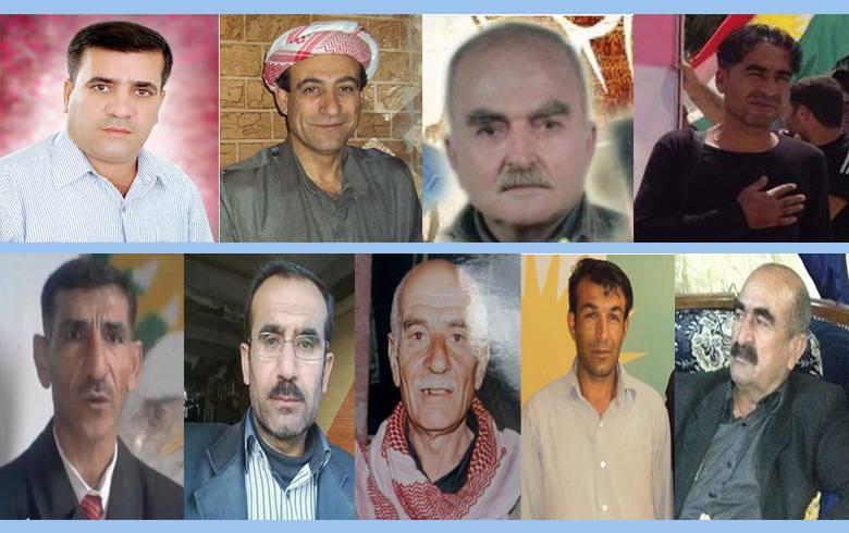 أسماء 9 معتقلين كورد مجهولي المصير في سجون PYD