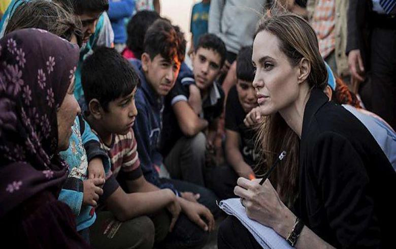 أنجلینا جولي : تكلفة عدم العمل في سوريا مرتفعة للغاية