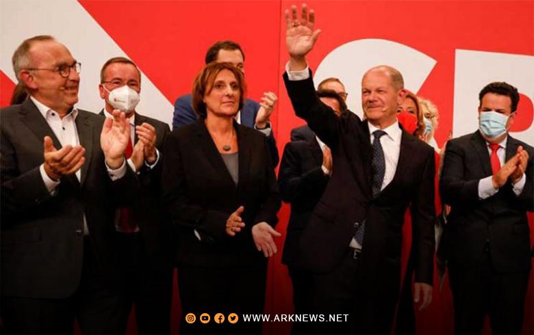 فوز الاشتراكيّين الديموقراطيّين في انتخابات ألمانيا بنسبة 25,7% من الأصوات