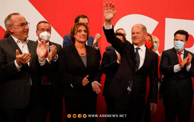 The Social Democrats won the German elections with 25.7 percent of the vote