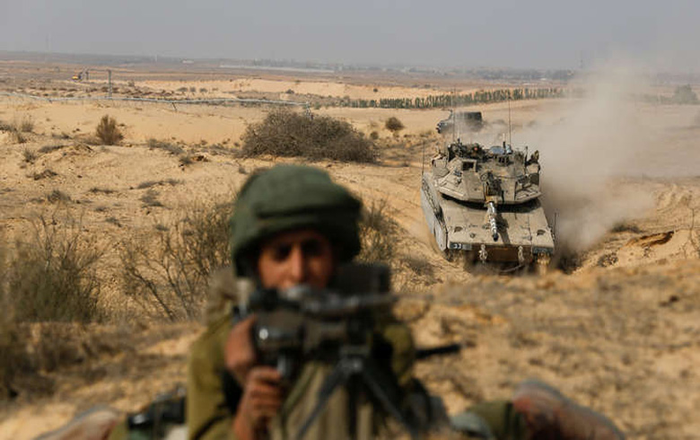 Military exercises and maneuvers on the Israeli-Syrian border
