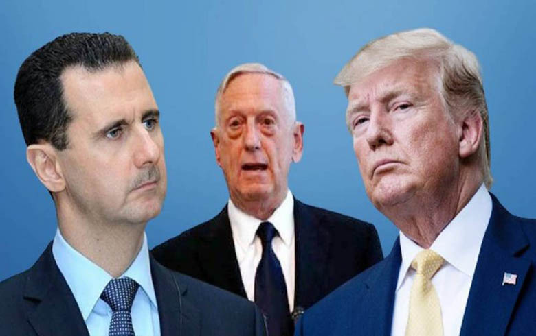 ترامب: أردت قتل بشار الأسد عام 2017, ولكن ماتيس عارض الخطة