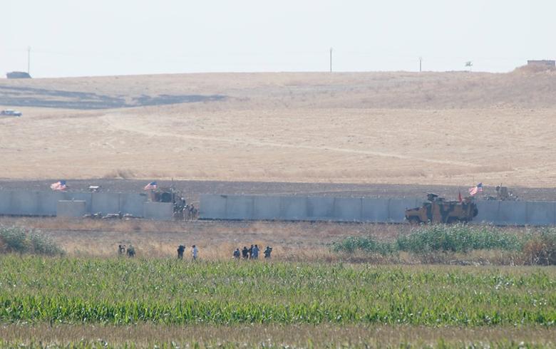 عاجل.. اول دورية أمريكية-تركية تدخل اراضي كوردستان سوريا
