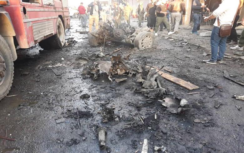 حصيلة ضحايا سلسلة الإنفجارات التي هزت مدينة قامشلو يوم امس
