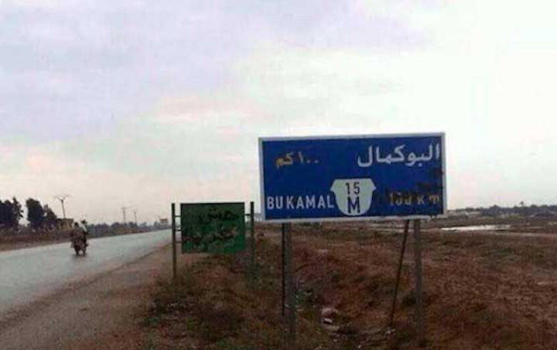 Iranian militias seize relief aid in Albu Kamal