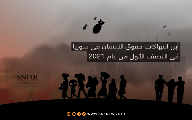 The Most Notable Human Rights Violations in Syria in the First Half of 2021