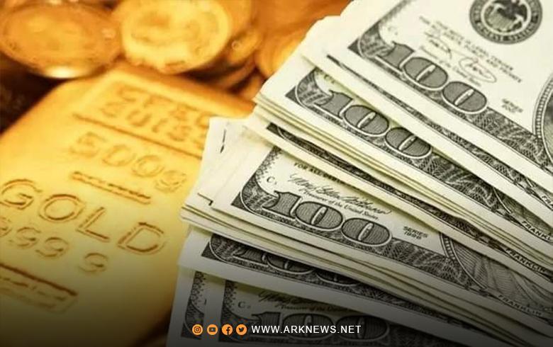 الليرة السورية تعود للانخفاض أمام الدولار.. وارتفاع الذهب