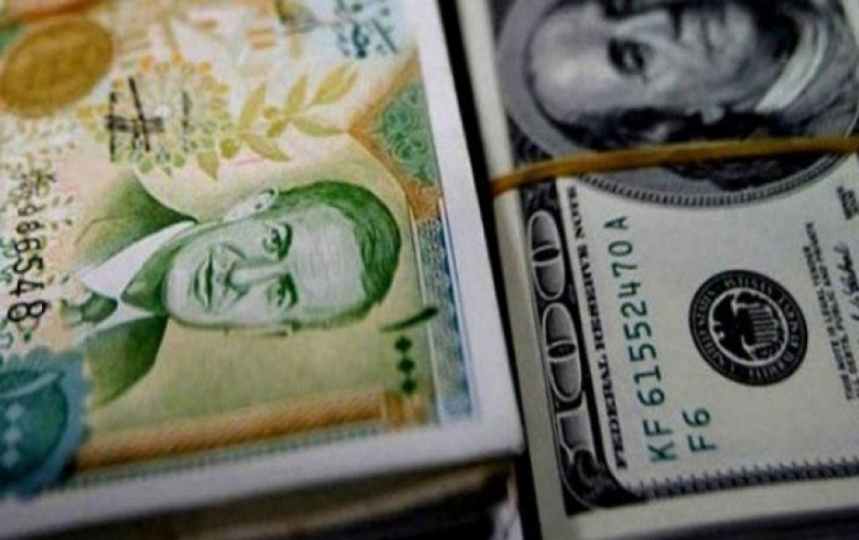 The Syrian pound is in constant collapse against the US dollar