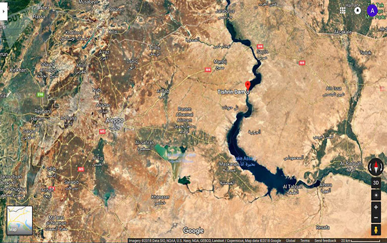 Russia announces the return of the Tishreen Dam to the Syrian regime