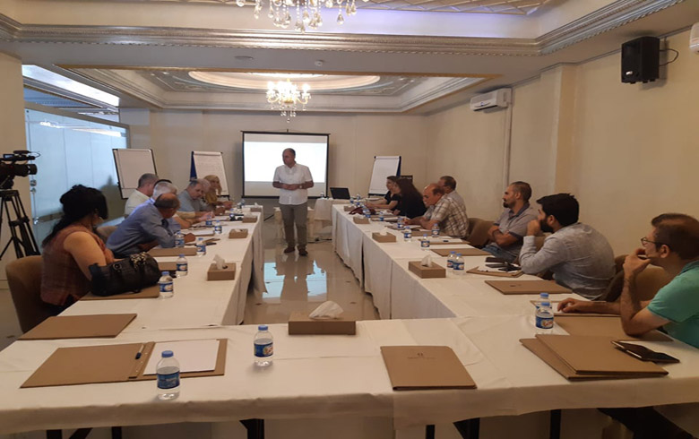 A discussion session in Erbil on the constitution and form of the Syrian state