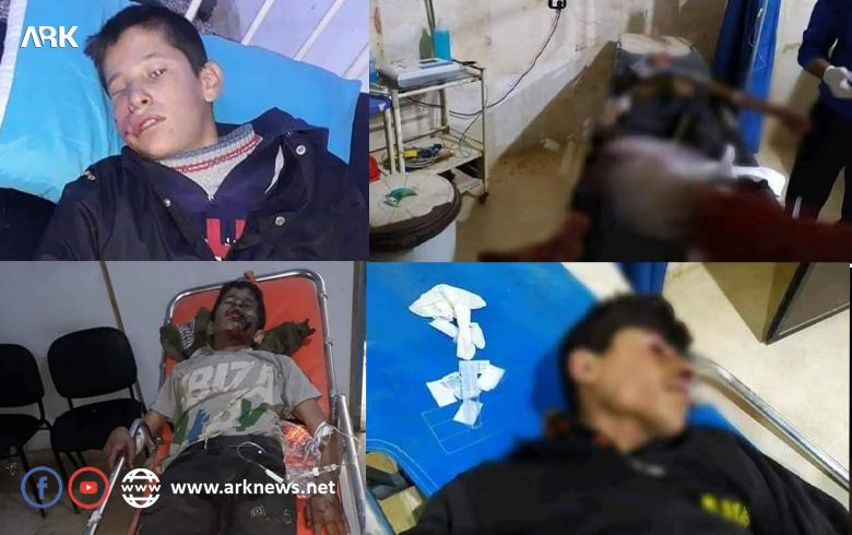 إصابة أربعة أطفال من مهجّري عفرين في الشهباء