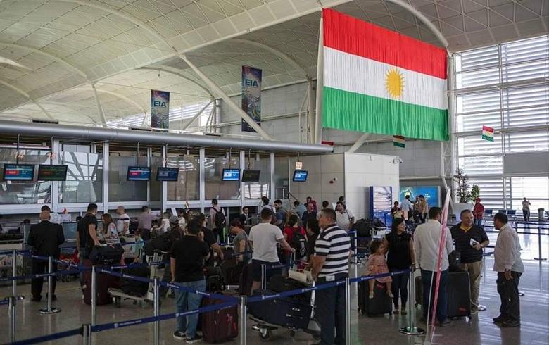 بيان من مديرية مطار أربيل