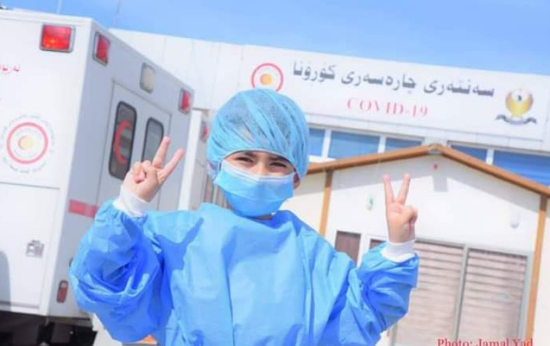 Another infected person is recovering in Erbil