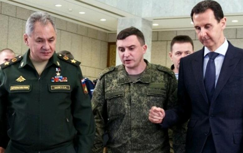 صحيفة روسية تكشف هدف زيارة وزير الدفاع الروسي إلى سوريا