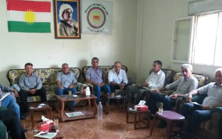 مطالب بالوصول إلى اتفاق نهائي بين ENKS و PYNK بهدف تثبيت حقوق الشعب الكوردي في سوريا المستقبل