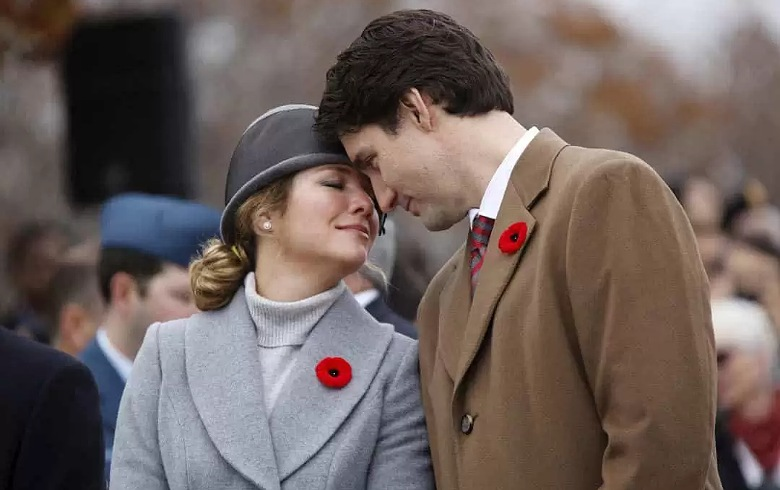 شفاء زوجة رئيس الوزراء الكندي: